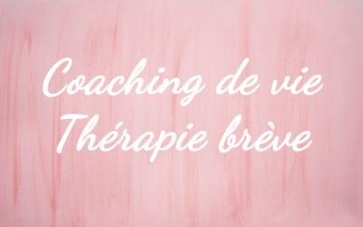 Thérapie Brève et Coaching de vie<br>Accompagnement individuel<br>En ligne