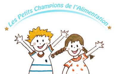 Les Petits Champions de l'Alimentation<br>le 17 sept 2019<br> Atelier à Tours